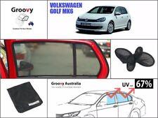 Groovy Car Sun Shades VOLKSWAGEN VW GOLF. 2 Pcs Rear Door Windows Mesh