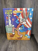 Vintage 1990 Golden Bugs Bunny Statue Of Liberty 100 Piece Puzzle NEW IN BOX