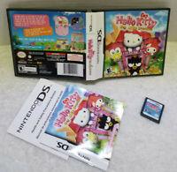 Hello Kitty: Big City Dreams (Nintendo DS, 2008) AMAZING COND FREE SHIP COMPLETE