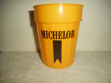 New listing Vintage Michelob Beer Cup 1970's Yellow 16 oz Graffi Cups Shawnee Mission Ks.