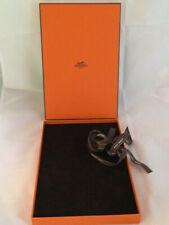 HERMES boîte écrin velours pour bijoux 29 x 19cm  Neuve