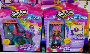 Shopkins Happy Places Rainbow Beach Lil' Shoppies Lolita Pops And Candy Clops