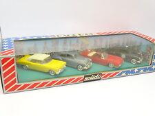 Solido 1/43 - Coffret USA Cadillac - Buick - Chevrolet - Ford
