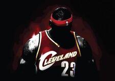ARMS DOWN LEBRON JAMES NBA BASKETBALL NEW ART PRINT POSTER YF1253