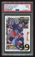 1997 Collectors Choice Magic Men Wayne Gretzky #MM2 PSA 9