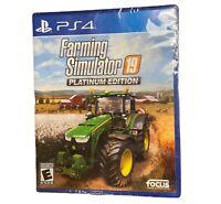 Farming Simulator 19 Platinum Edition (PS4) - PlayStation 4 NEW FACTORY SEALED