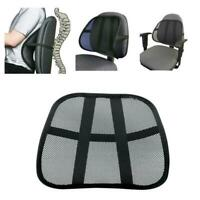 Comfort Mesh Lumbar Back Brace Support Cushion Auto Car Seat Office Chair Home