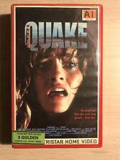 Quake 1992 Ex-Rental Vintage Big Box VHS Tape English with dutch subs