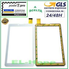 "TOUCH SCREEN Miia TAB MT-733GR MT-733GW 3G VETRO Digitizer 7,0/"" Bianco GLS 24h"