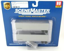 HO Scale 40' Trailmobile Trailers (2 Pack) - UPS - Walthers #949-2509