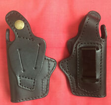 Concealment IWB Black Leather Holster for Walther TPH .22 or.25 handgun, New