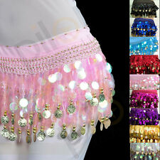9 colors for chose NEW belly dance Hip Scarf waistband belt skirt  HOT