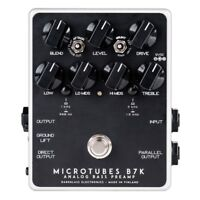 Darkglass Electronics Microtubes B7K V2 Analog Bass Preamp Effects Pedal