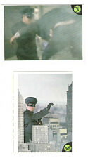 1966 Green Hornet Donruss lot 2 different cards starring Bruce Lee Kato #s 34 44