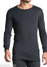 Camisetas de hombre de manga larga de color principal gris