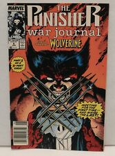 The Punisher War Journal #6. Guest Starring The Wolverine ! Part One of Two