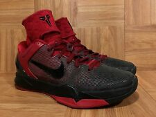 RARE🔥 Nike Zoom Kobe VII Custom NikeID Deadpool Gradient Black Red 8 531477-995