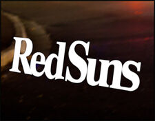 REDSUNS INITIAL D red suns Car Decal Vinyl Vehicle Bumper Sticker Funny JDM