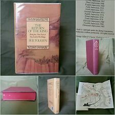 UK Ed. *1st Ed,13th Print* The Lord of the Rings: The Return of the King Tolkien