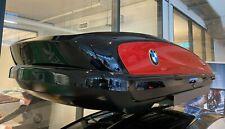 Original BMW Dachbox 420 Liter mit Sonderlackierung Schwarz Melbourne Rot