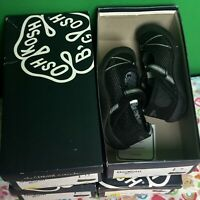 OshKosh Dexy-G Black Breathable Comfort Shoes Toddler Girl Variety Sizes NEW