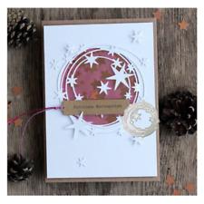 Stars Circle Metal Cutting Dies Stencil DIY Scrapbooking Album Paper Card Craft