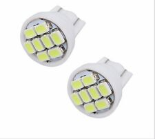 2X White T10 8 smd 1206 Car Interior Light Auto Wedge Instrument Panel Bulbs