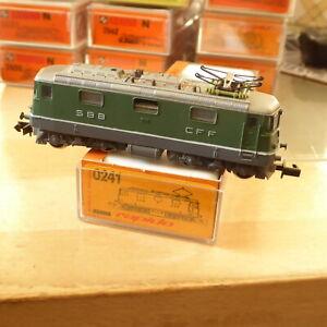 Arnold 0241 Rapido N Electric Locomotive Re 4/4 II SBB Epoch 3/6 Only Ein