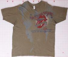 Rolling Stones Tatoo You Candlestick Park Oct. 17, 1981 2XL T-Shirt