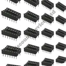 10x 14 Pines Rohs Pcb Ic Socket dil/dip 14 0,3 ""