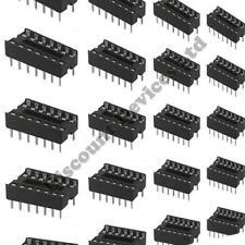 "10x 14 Pin RoHS PCB IC Socket DIL/DIP 14 0.3"""