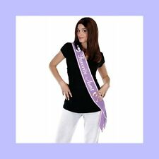 Purple Favorite Aunt Sash to wear at Baby Shower or Party
