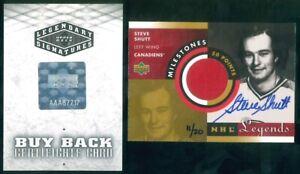 2004-05 UD Legendary Signatures Buybacks #180 Steve Shutt UD Leg Miles 11/20
