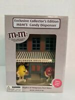 M&M's Candy Dispenser, Replica of Walgreens First Store 2008 Collector's Edition
