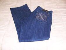 MENS XRAY XY EMBROIDER LOGO POCKETS BLUE JEANS 40X32
