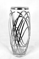 BEAUTIFUL Decorativo Vetro Swirl ELICA FIORE VASO 26cm, ART NOUVEAU STILE.