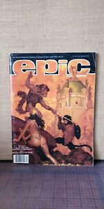 Epic Illustrated #29 (April 1985) - Marvel Magazine Fantasy & Sci Fi -Nice