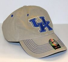 UK KENTUCKY  - TAN & BLUE BASEBALL CAP HAT - BOYS ONE SIZE FITS ALL