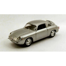 FIAT ABARTH 750 ZAGATO 1958 SILVER PROVA 1:43 Best Model Auto Stradali Die Cast
