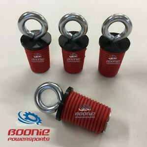 (4) Polaris Lock & Ride Lock and Ride Tie Down for 2005-2021 RZR, Sportsman, ACE