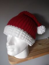Handmade Knitted novelty Santa Hats