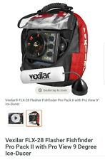 Vexilar Flx-28 Flash Fishfinder Pro Pack Ii Pro View 9 Dagree Ice Ducer