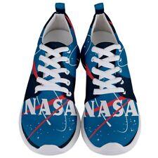 New NASA VINTAGE LOGO Men's Lightweight Sports Shoes Free Shipping