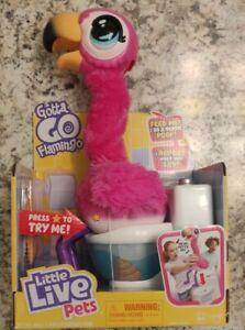 Little Live Pets Gotta Go Flamingo Eats Sings Poops SHIPS FREE TODAY
