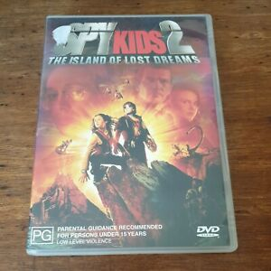 Spy Kids 2 DVD  R4 Like New! FREE POST