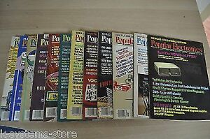 Popular Electronics Magazine FULL Collection from 1977 year In Good Condition !