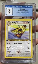 Pidgeot 1st Edition Jungle Mint 9 CGC Pokémon #24