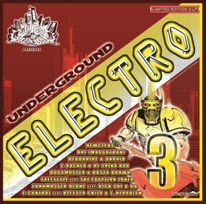 CBR UNDERGROUND ELECTRO VOL.3/Electro,Rap,Funk,VOCODER*Rare ! (BREAKDANCE) Bass