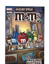 2019 SDCC CON EXCLUSIVE MARVEL M&M'S HAZELNUT HEIST-ERIA ONE SHOT 1 COMIC BOOK