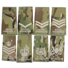 ROYAL ENGINEERS CRE RE MULTICAM PCS RANK SLIDES BRITISH ARMY RE SLIDES